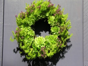 The living wreath