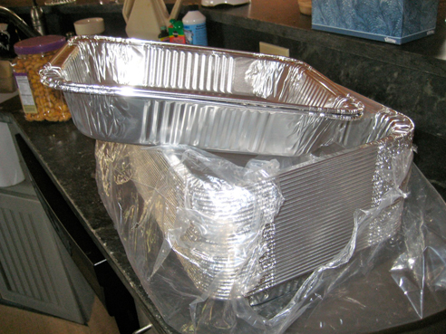 Aluminum Trays—A Lot of Them!